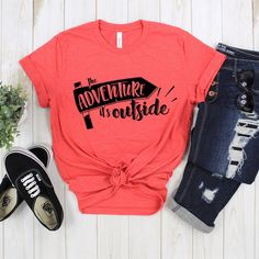 Adventure Outside Tshirt EL3D