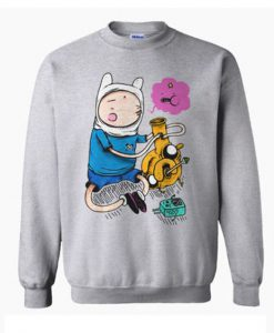 Adventure Time Bongs Sweatshirt FD2D
