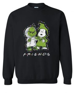 Baby Grinch And Snoopy Sweatshirt SR4D