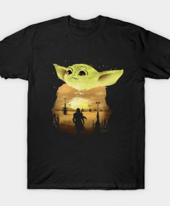 Baby Yoda Sunset T-Shirt RS27D