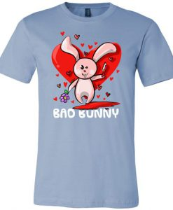 Bad Bunny Heart T-Shirt SR7D