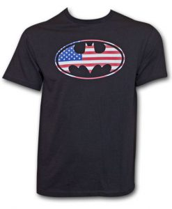 Batman American Flag T-shirt FD24D