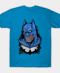 Batman Blue Tshirt FD24D