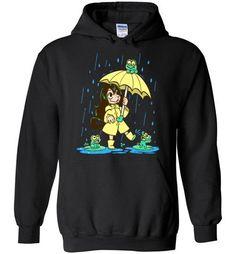 Best Frog Girl Hoodie EL6D