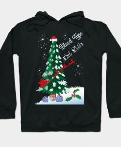 Blood Type Christmas Hoodie SR7D