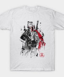Bounty Hunter sumi tshirt FD24D