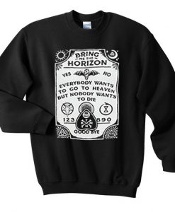 Bring Me The Horizon Sweatshirt FD5D