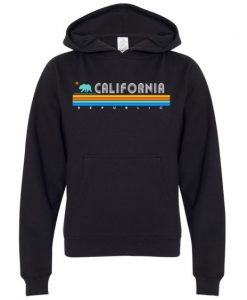 California Republic Vintage Hoodie FD18D
