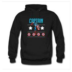Captain In Christmas Hoodie EL6D