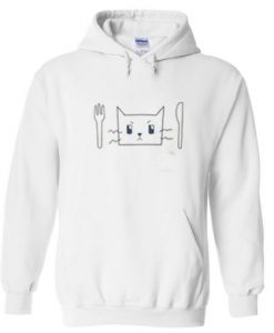 Cat Face Hungry Hoodie FD2D
