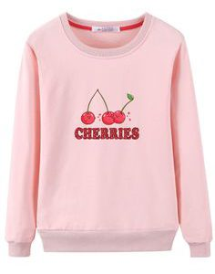 Cherries Sweatshirt EL3D