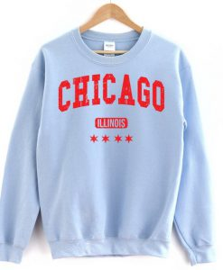 Chicago Blue Sweatshirt FD2D