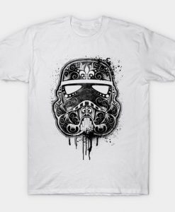 Dark Star Graffiti White Tshirt FD24D