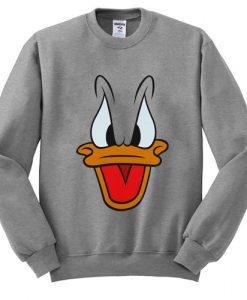 Donald Duck Face Sweatshirt FD2D