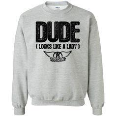 Dude Aerosmith Sweatshirt EL3D