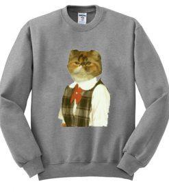 Funny Cat Sweatshirt FD2D