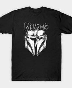 Mandos The Mandalorian T-Shirt FD24D