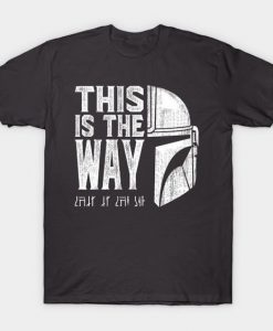 This is the way Helmet tshirt FD24D