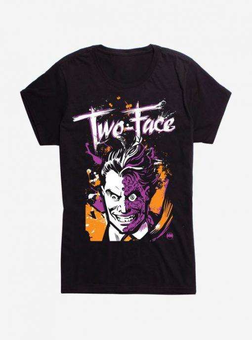 Two Face Girls T-Shirt FD2D