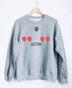 autism balloons sweatshirt FD2D