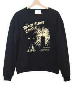 black flame candle Sweatshirt FD2D