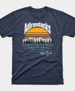 Adirondack Mountains Tshirt EL23J0