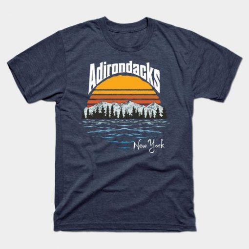 Adirondack Mountains Tshirt EL23J0