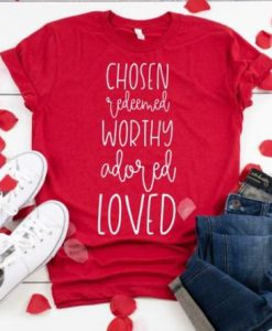 Adored Loved Youth Shirt FD7J0