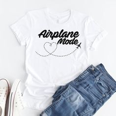Airplane Mode Tshirt EL18J0