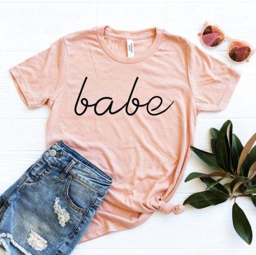 Babe Tshirt EL24J0
