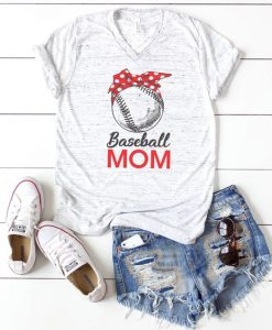 Baseball Mom T-shirt FD14J0