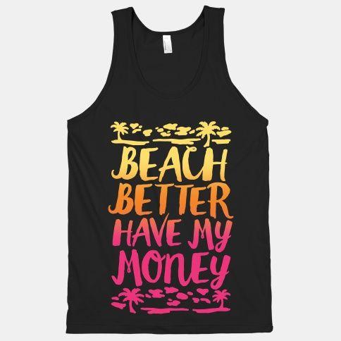 Beach Better Tank Top SR17J0