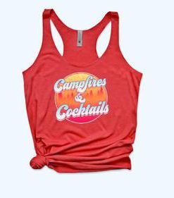 Campfires And Cocktails Tanktop FD21J0