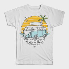 Summer Time Tshirt EL18J0
