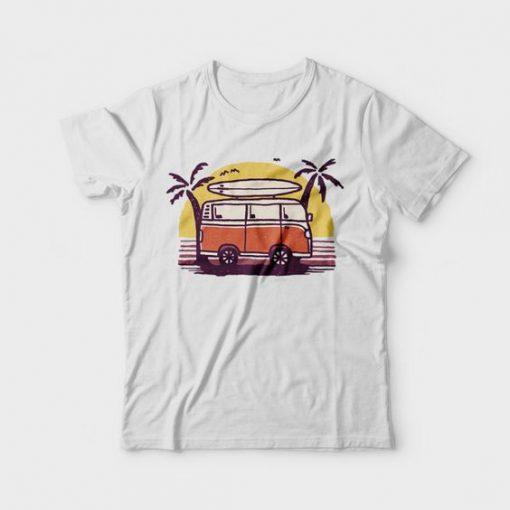 Sunset Van t shirt FD14J0