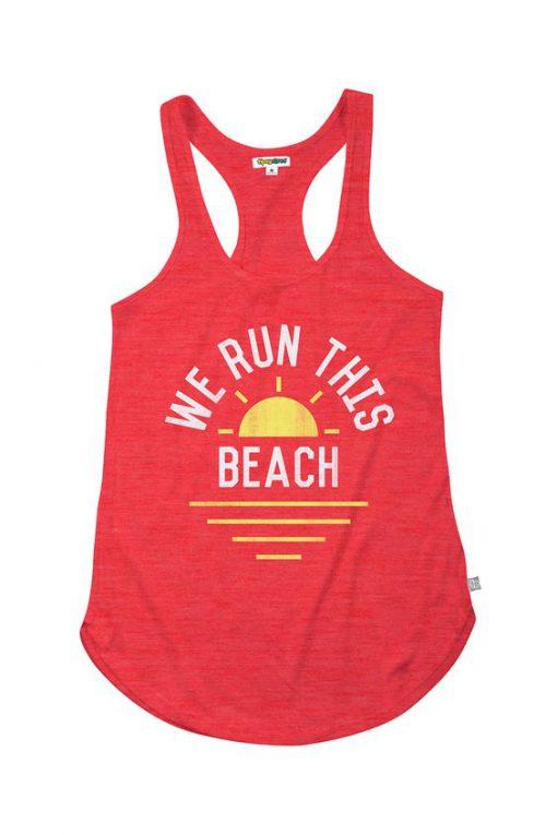 We Run This Beach Tanktop FD27J0