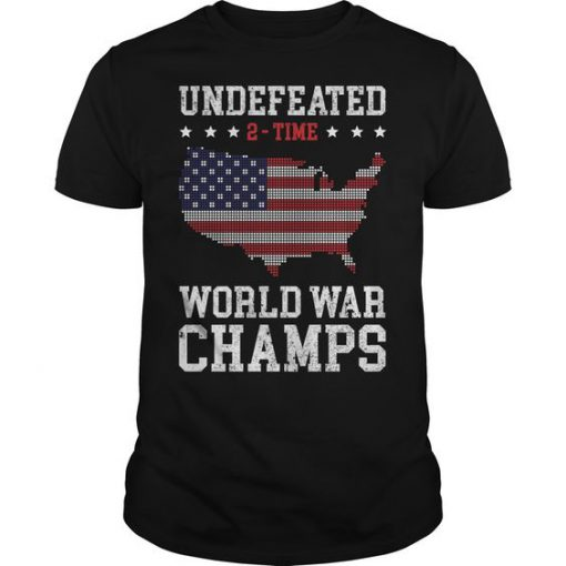 World War Champs Tshirt FD27J0