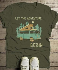 Adventure Begin Tshirt FD4F0