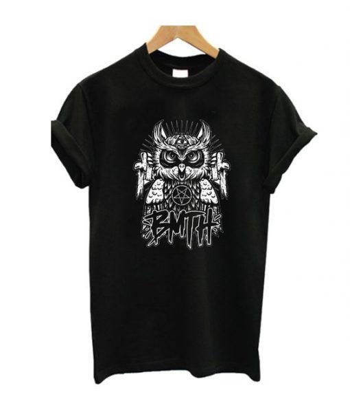Bring Me The Horizon Owl TShirt FD6F0