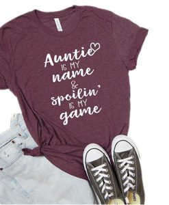 Auntie is My Name T-shirt YT5M0