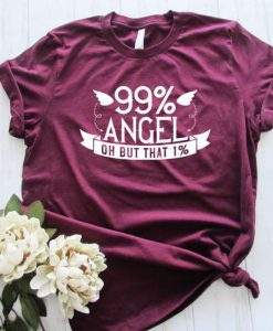 99 Percent Angel Shirt AS26JN0