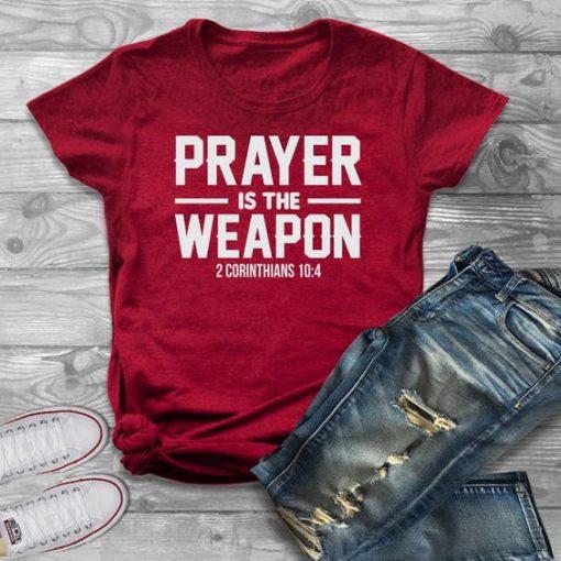 Prayer Weapon T-Shirt SR13JL0