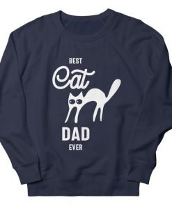 Best Cat Dad Sweatshirt AS22AG0