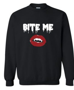 Bite Me Vampire Sweatshirt AS22AG0