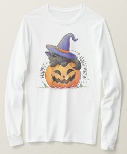 Cute Happy Halloween Sweatshirt AS22AG0