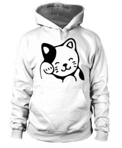 Cute Kitty Cat Hoodie LI11AG0