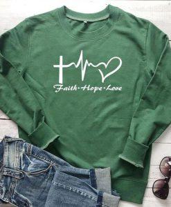 Faith Hope Love Sweatshirt AS22AG0