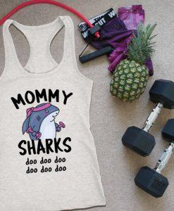Mommy Sharks Tanktop LE31AG0