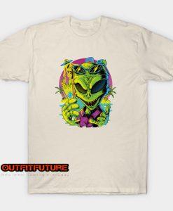 Alien at summer T-Shirt EL25N0