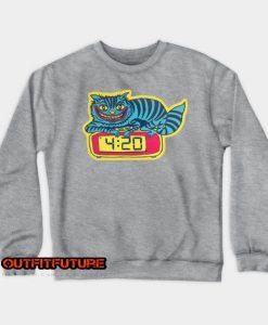 Cat Vintage Sweatshirt EL25N0